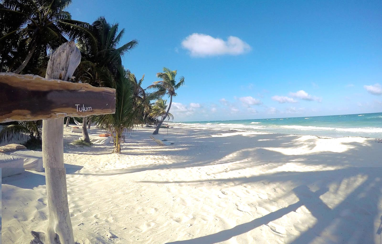 tulum akumal coba beach
